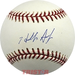 Hideki Irabu Autographed Official Major League Baseball