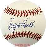 Eddie Kasko Autographed Official American League Baseball