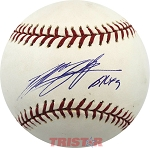 Byung-Hyun Kim Autographed 2004 World Series Baseball