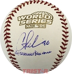 Curtis Leskanic Autographed 2004 World Series Baseball Inscribed We Reversed the Curse
