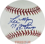 Lee May Autographed Baseball Inscribed 79 Orioles AL Champs