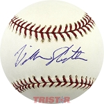 Bill North Autographed Official Major League Baseball