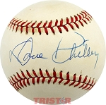Dave Philley Autographed Official National League Baseball