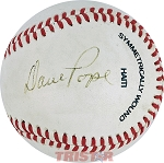 Dave Pope Autographed Wilson Major League Baseball