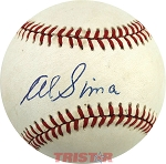 Al Sima Autographed Official American League Baseball