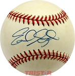 Earl Snyder Autographed Official Major League Baseball
