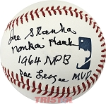 Joe Stanka Autographed Baseball Inscribed Nankai Hawks, 1964 NPA Pac League MVP