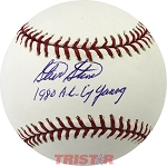 Steve Stone Autographed Major League Baseball Inscribed 1980 AL Cy Young