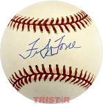 Frank Torre Autographed Official National League Baseball