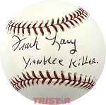 Frank Lary Autographed Official Major League Baseball Inscribed Yankee Killer