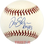 Tim Salmon Autographed Official Major League Baseball Inscribed ROY 93