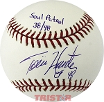 Twins Soul Patrol Torii Hunter, Jacque Jones and Shannon Stewart Autographed Baseball