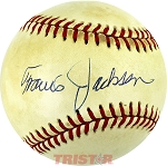 Travis Jackson Autographed Official National League Baseball