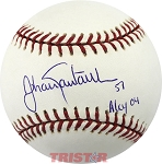 Johan Santana Autographed Official Major League Baseball Inscribed AL Cy 04