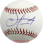 Oscar Taveras Autographed Official Major League Baseball