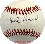Nick Tremark Autographed Official National League Baseball