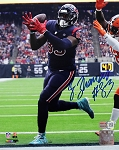 Jordan Thomas Autographed Houston Texans 8x10 Photo