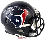 Jordan Thomas Autographed Houston Texans Mini Helmet