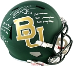 Robert Griffin III Autographed Baylor Bears Full Size Helmet Inscribed Heisman & More
