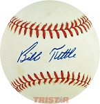 Bill Tuttle Autographed Official American League Baseball