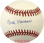 Bill Werber Autographed Official National League Baseball