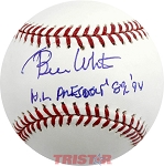 Bill White Autographed Official Major League Baseball Inscribed NL President 89-94