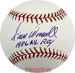 Todd Worrell Autographed Official Major League Baseball Inscribed 1986 NL ROY