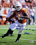 Charles Omenihu Autographed UT Texas Longhorns 8x10 Photo