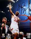 Kenny Smith Autographed Houston Rockets 8x10 Photo