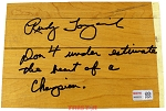 Rudy Tomjanovich Autographed Authentic Summit Floor Piece with Inscription