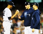 Mariano Rivera Autographed New York Yankees Last Game 16x20 Photo Inscribed HOF 2019