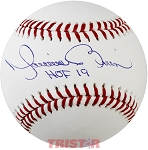 Mariano Rivera Autographed Official Baseball Inscribed HOF 19