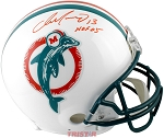 Dan Marino Autographed Miami Dolphins Authentic Proline Helmet Inscribed HOF 05
