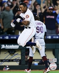 Tony Kemp Autographed Houston Astros Celebrating 8x10 Photo