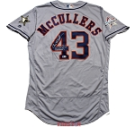 Lance McCullers Jr. Autographed Game Used Houston Astros 2017 All-Star Jersey with Inscriptions