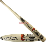 Jeff Bagwell Autographed Cooperstown Hall of Fame Bat Inscribed HOF 17