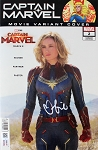 Brie Larson Autographed 'Captain Marvel' Comic #2 Movie Variant Edition