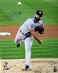Jose Urquidy Autographed Houston Astros 2019 World Series 16x20 Photo