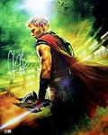 Chris Hemsworth Autographed Marvel Avengers Thor 16x20 Photo