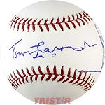 Tom Lasorda, Steve Garvey, Bill Russell, Davey Lopes & Ron Cey Autographed Baseball