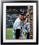 Ted Williams Autographed Boston Red Sox 16x20 Photo Framed