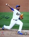 Josiah Gray Autographed LA Dodgers Minor League Quakes 8x10 Photo