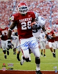 Adrian Peterson Autographed OU Sooners 16x20 Photo