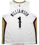 Zion Williamson Autographed New Orleans Pelicans Nike Swingman Jersey