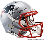 Jimmy Garoppolo Autographed New England Patriots Full Size Replica Speed Helmet