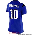 Jimmy Garoppolo Autographed Eastern Illinois Blue Custom Jersey