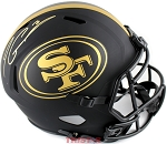 Jimmy Garoppolo Autographed San Francisco 49ers Eclipse Full Size Authentic Helmet