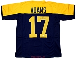 Davante Adams Autographed Green Bay Packers Throwback Custom Jersey