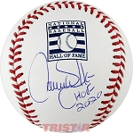 Larry Walker Autographed Hall of Fame Baseball Inscribed HOF 20