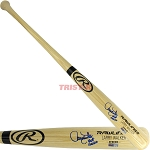 Larry Walker Autographed Rawlings Name Model Bat Inscribed HOF 20